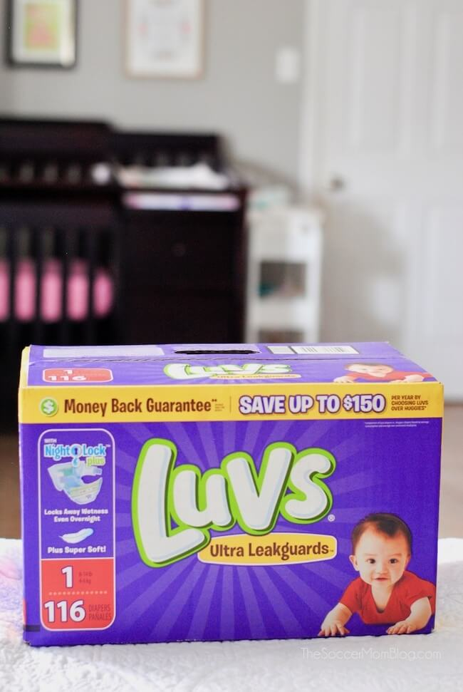 Luvs is the official diaper of experienced moms because of their great fit and great price. Luvs cost up to 9 cents less per diaper than other leading brands.