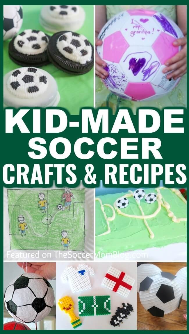 kid made soccer gifts