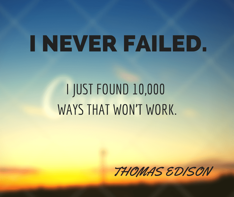 Monday Inspiration: Thomas Edison quotes