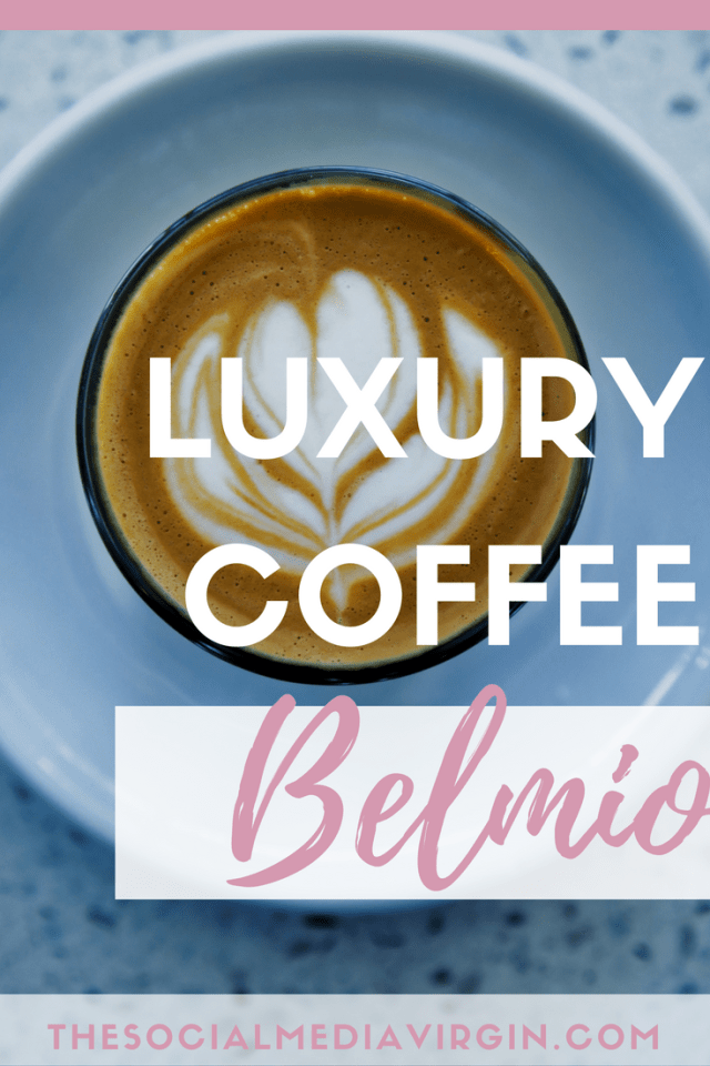Luxury Coffee Pod Review for in home Coffee Machines | Belmio | The Social Media Virgin | Mature Lifestyle Blog