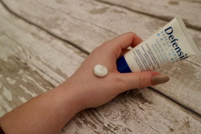 defensil rescue serum moisturising skin care | the social media virgin | mature lifestyle blogger