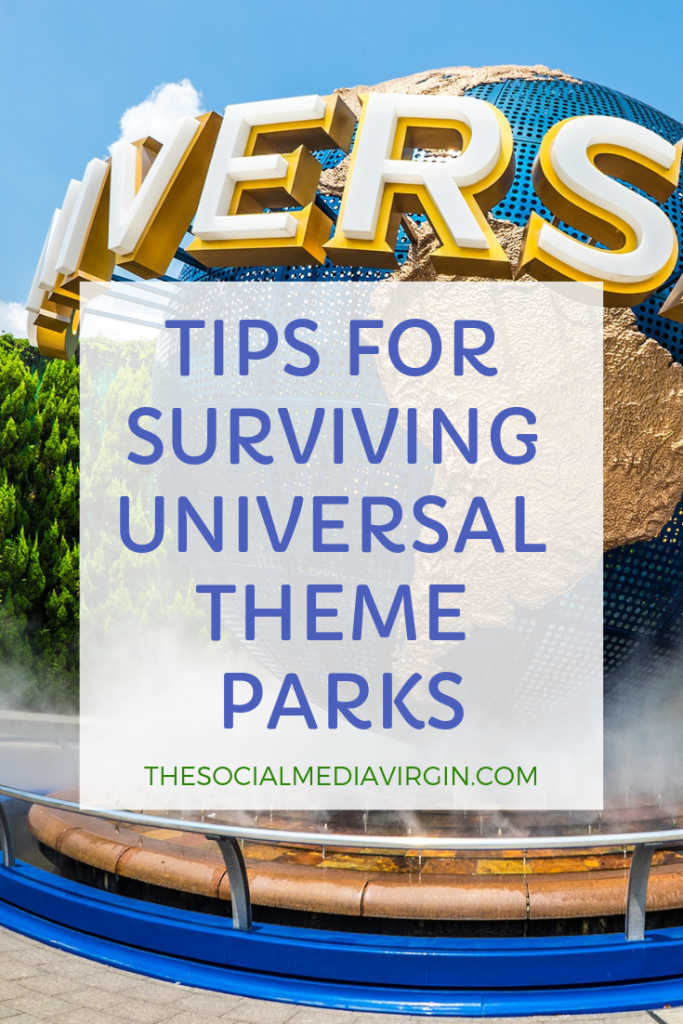 Top tips for visiting Universal Studios or Universal Islands of Adventure Florida with kids | Travel Guide | The Social Media Virgin