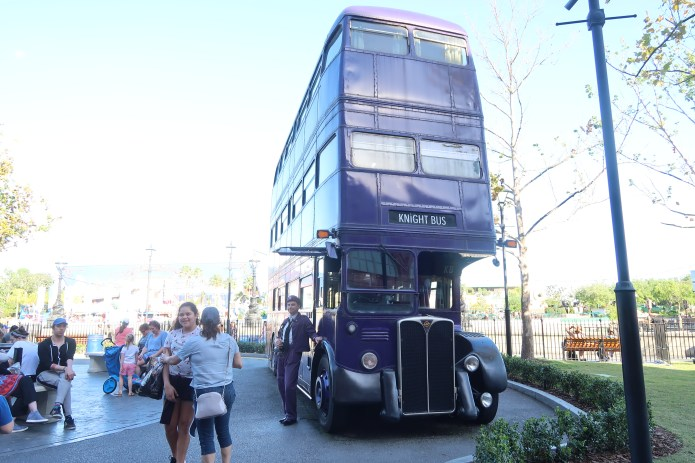 Harry Potter Knight Bus | Top tips for visiting Universal Studios or Universal Islands of Adventure Florida with kids | Travel Guide | The Social Media Virgin