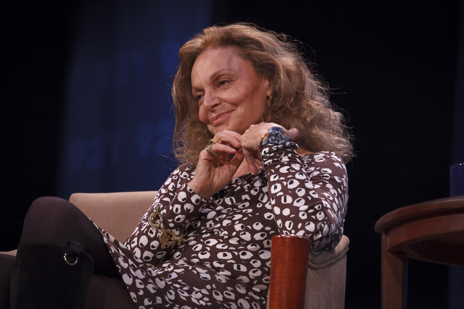 Fern Mallis Gets Unclose and Personal with DVF at 92Y.