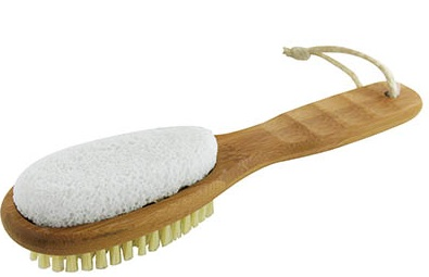 foot brush & pumice