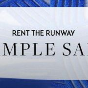 Sample Sale Alert: Rent The Runway