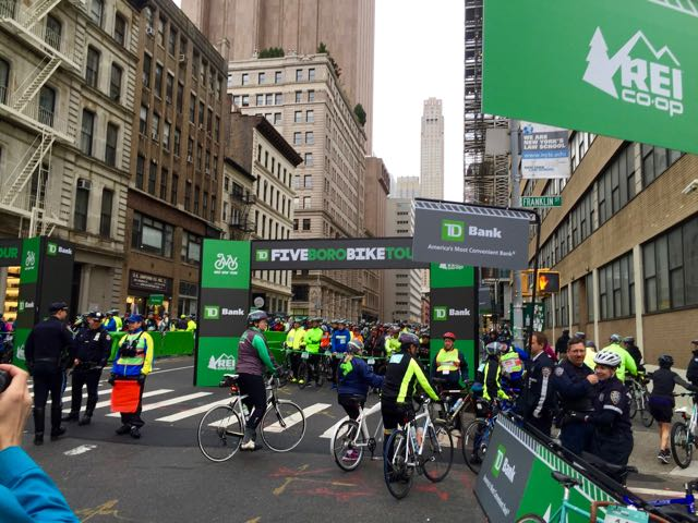 2016 TD Bank Five Boro Bike Tour