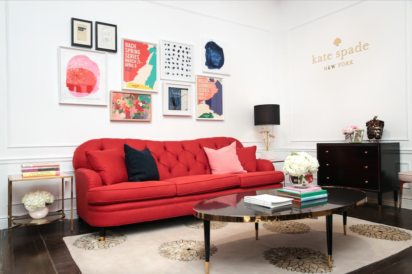 Kate Spade Home Collection Launches At ABC Carpet U0026 Home