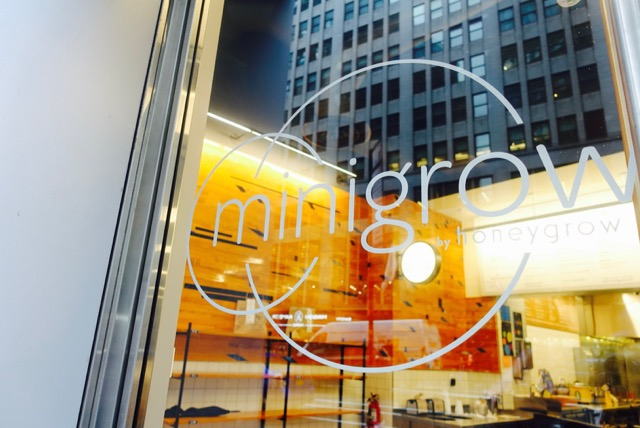Minigrow Serves Healthy Eats For Active New Yorkers