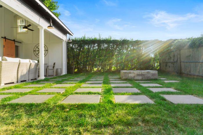 backyard features