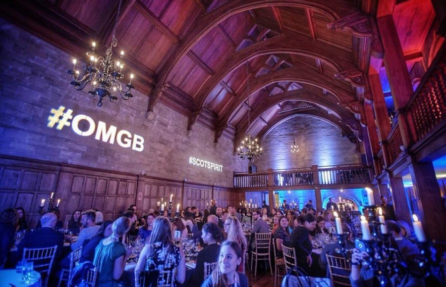 The STS Gala Dinner at Achnagairn Castle (image courtesy of Juliana Broste).