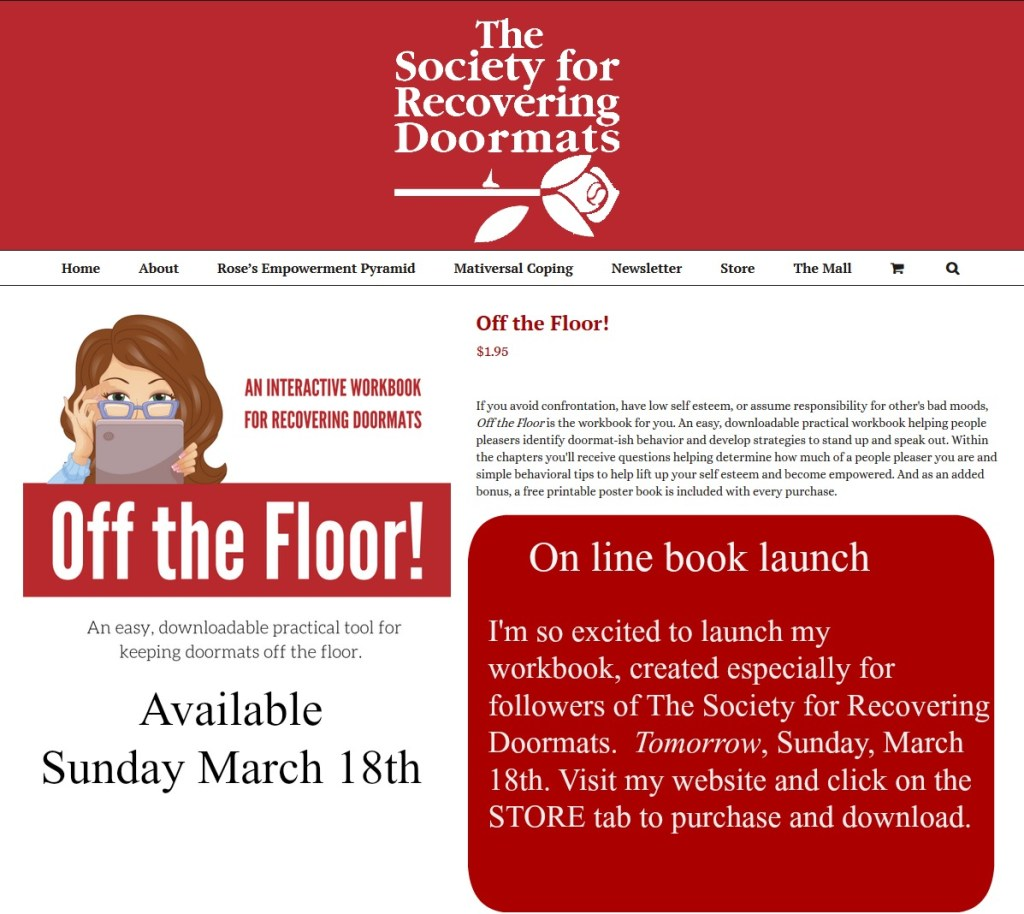 depression Archives - The Society for Recovering Doormats
