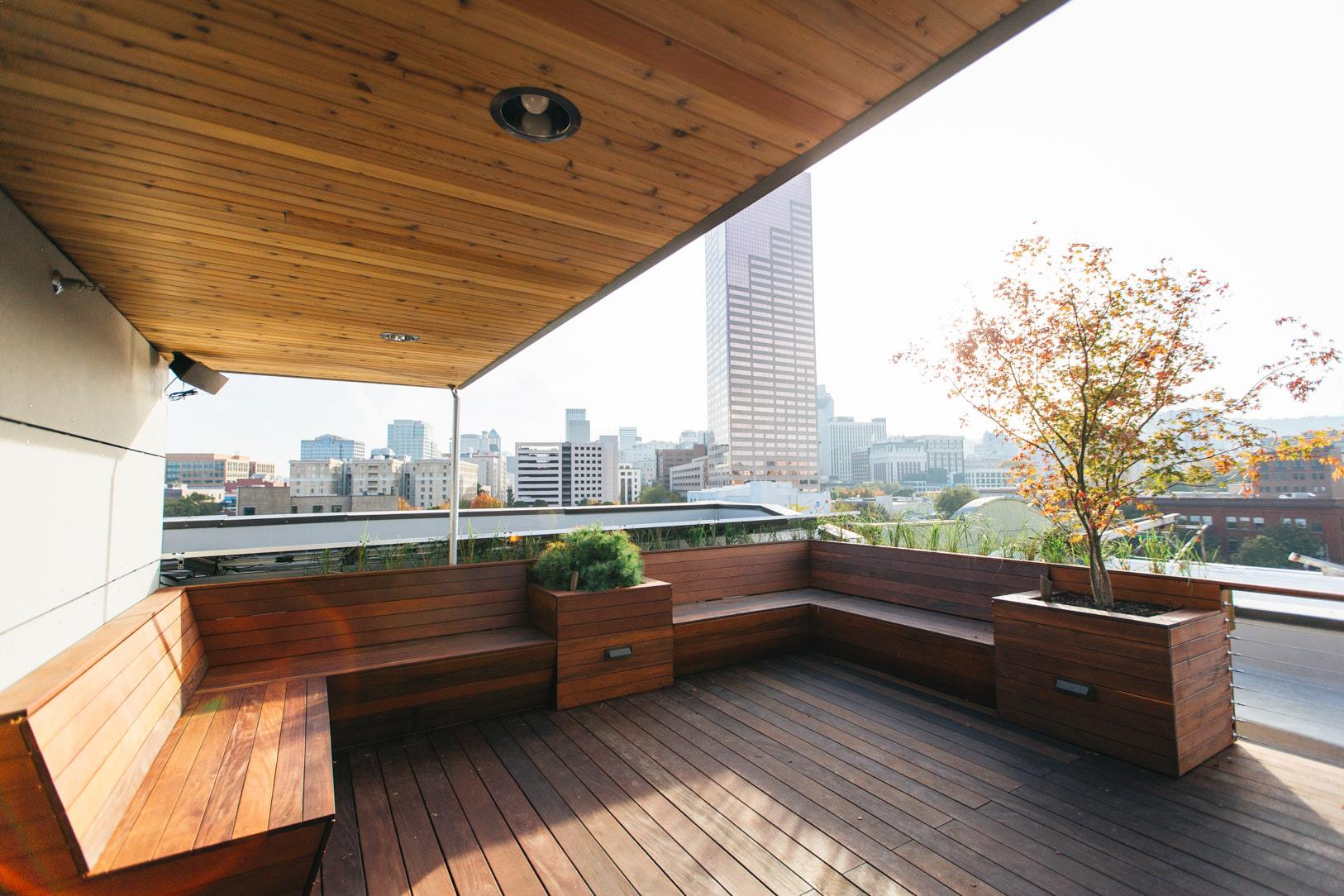 the society hotel rooftop deck rooftop event venues in. Black Bedroom Furniture Sets. Home Design Ideas