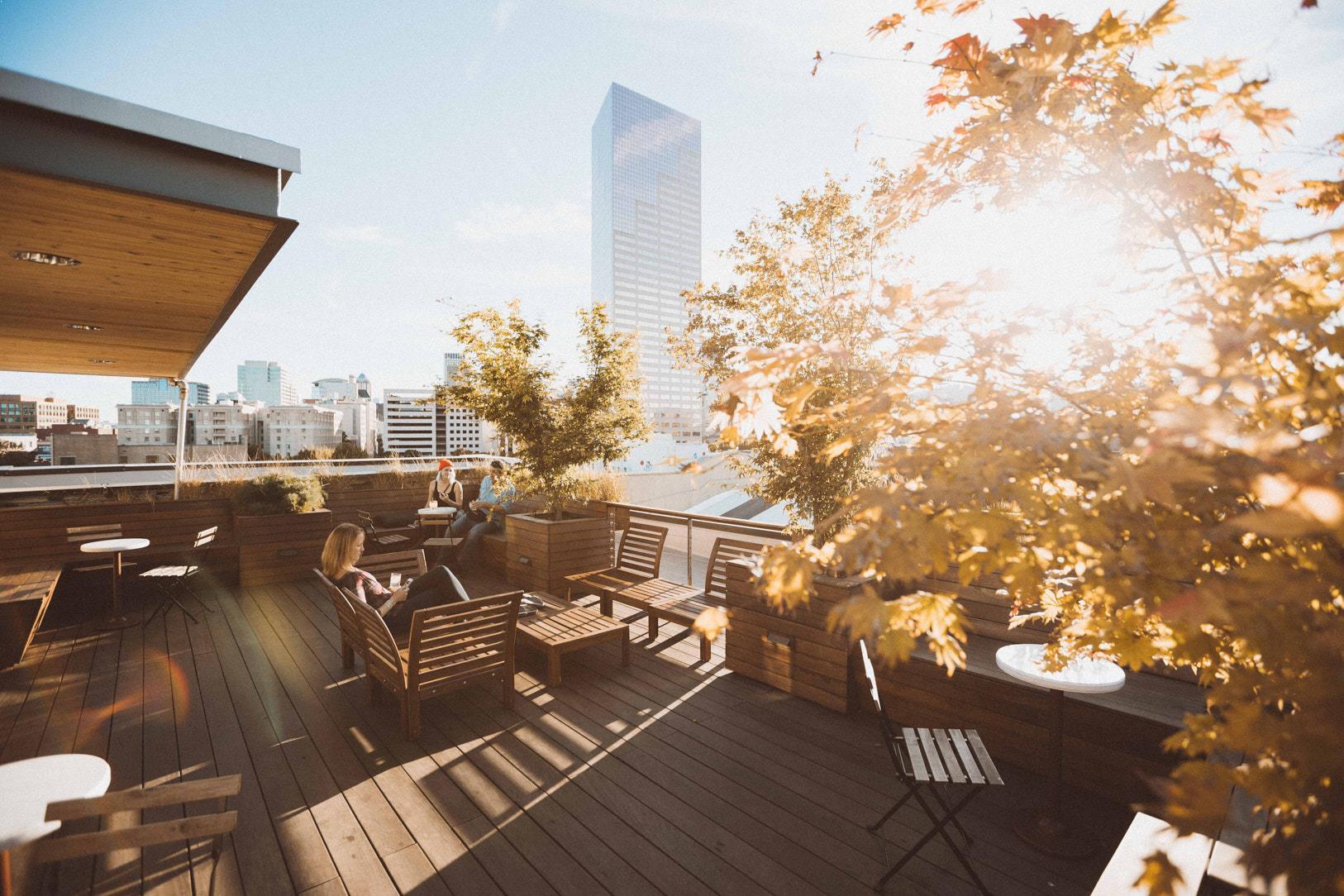The Society Hotel - Rooftop Balcony
