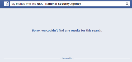 My friends who like NSA - National Security Agency