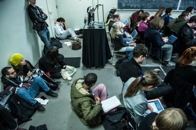 People live-tweeting at #TtW13 (image credit: Aaron Thompson)