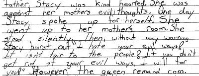 Credit: author, age 9.