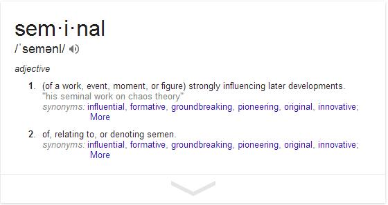 Seminal Document