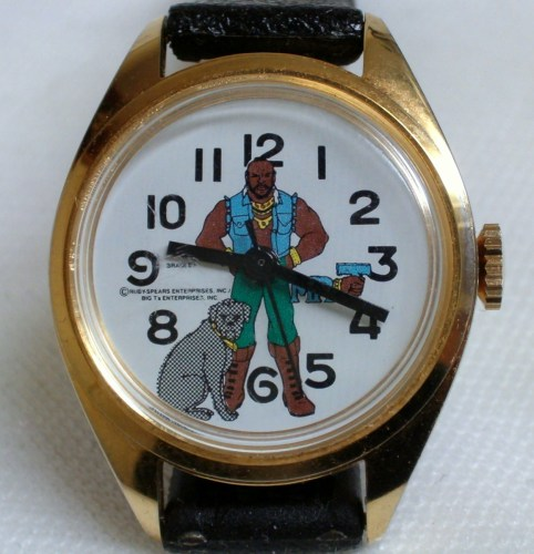 A Swiss-made 1983 Mr. T Watch. Timeless. (Source)