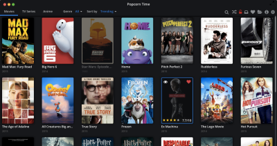 Popcorn Time's intuitive interface offers a model for what open source design should aspire to