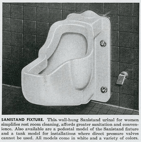Urinals for Women An Alternative Reality  Sociological