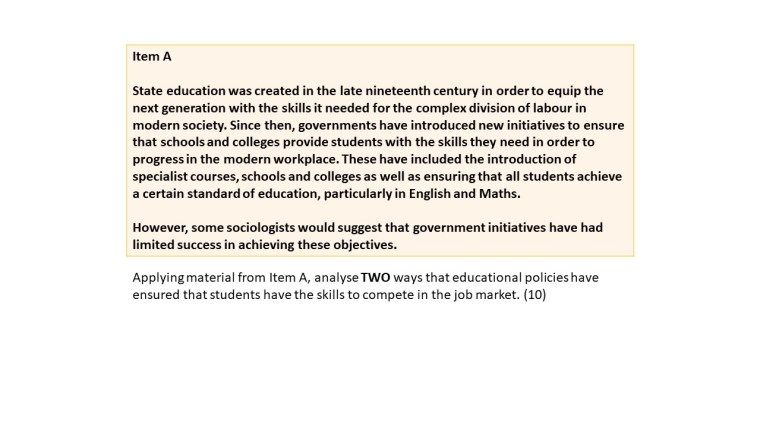 Education and Social Policy
