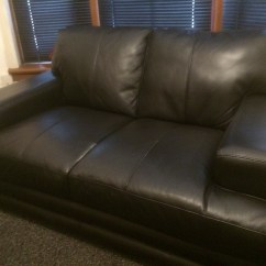 3 Seater Sofa Black Leather Cheap Single Beds Uk And 2 Refurb The Man