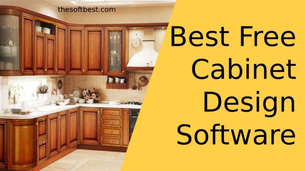 Best Free Cabinet Design Software