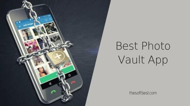 Best Photo Vault App