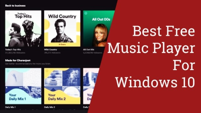 Best Free Music Player for Windows 10