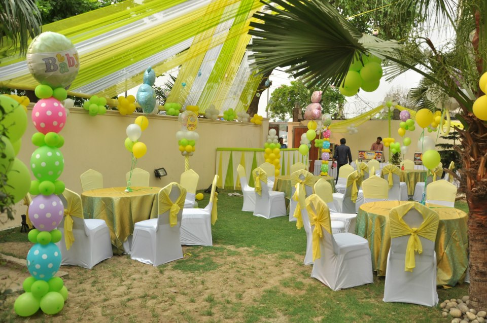 Baby Shower Event Styling and Decor
