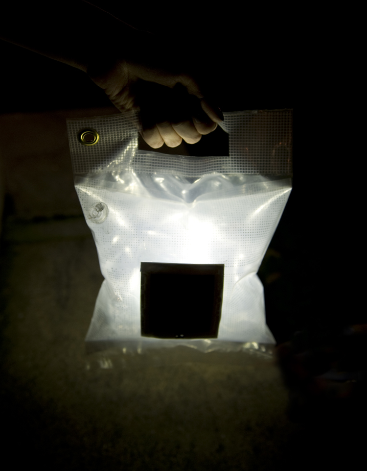 Solar Light Pillow  A project dedicated to distributing
