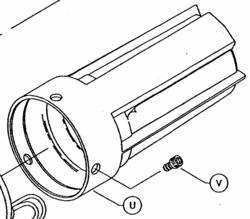 SHURFLO 9300 PUMP, REPAIR PART, End Bell Brush Kit, 94-004-00