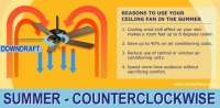 Which Way Should Your Ceiling Fan Turn in Summer? The Cool ...