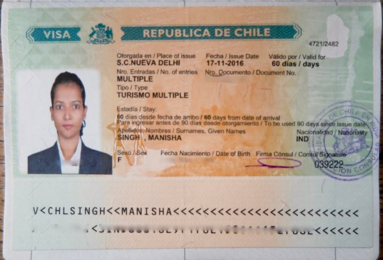 How To Get Chile Visa On Indian Passport Updated 2020 The Sole Speaks