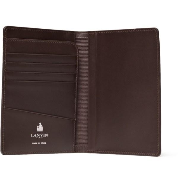 Lanvin Lizard Skin Passport Holder 4 Monsieur