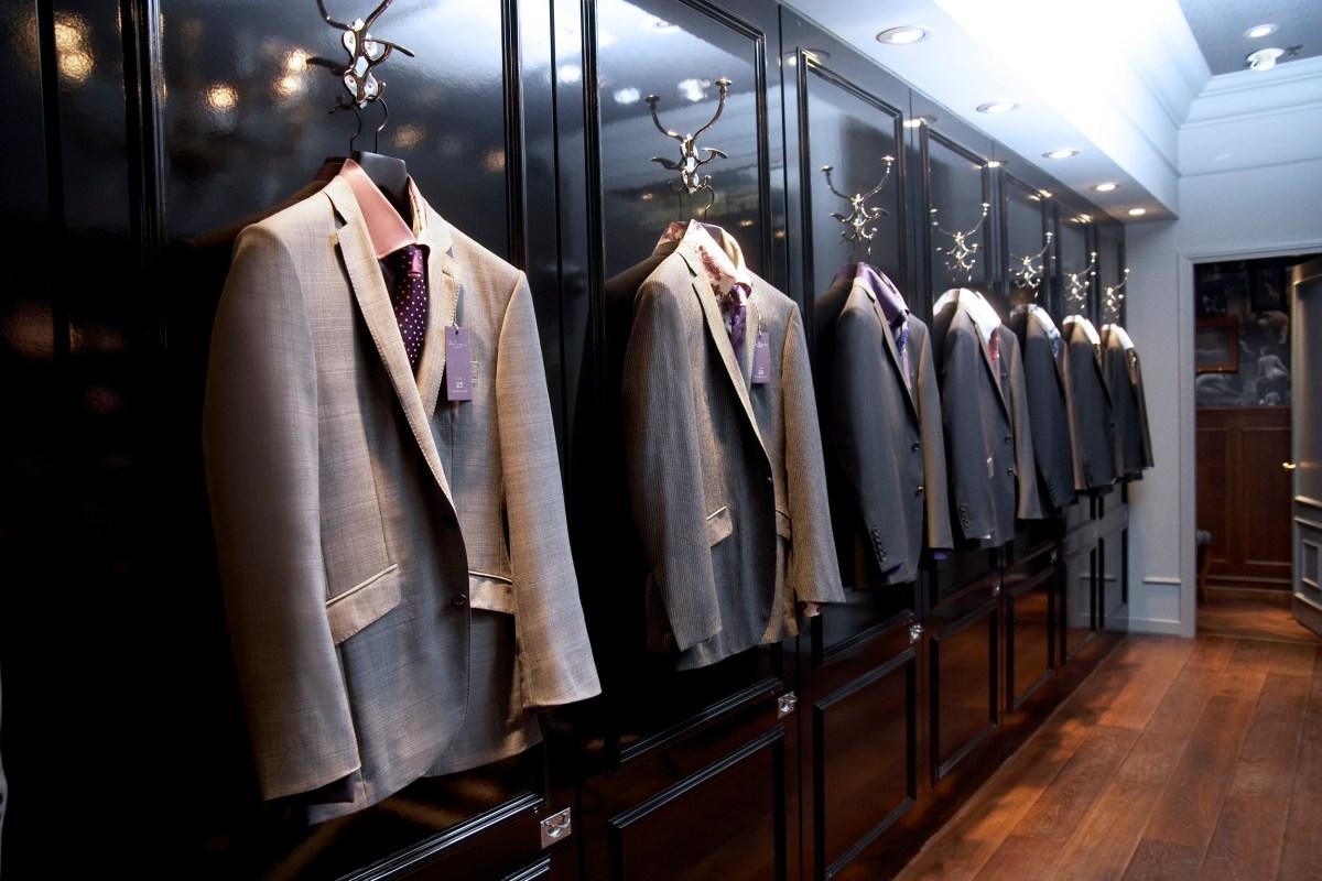 Dress Above Your Paygrade Ben Sherman Savile Row  The