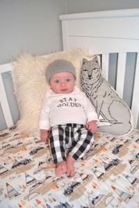 m & h nursery tour | boy/girl twins nursery