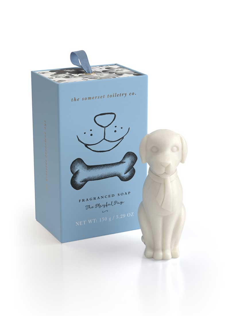 dog shaped soap gifts
