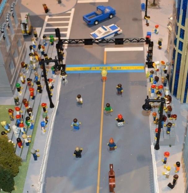 Somerville LegoLand:LEGO Boston Marathon | The Somerville News Weekly