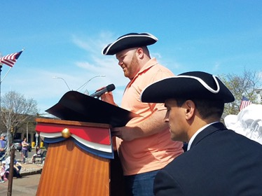 Somerville's Patriot's Day Ceremonies Commemorated Paul Revere's Ride