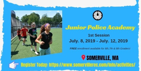 Somerville Junior Police Academy | The Somerville News Weekly