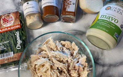 Quarantine Series: Easy Chicken Salad And Why You Should Buy The Whole Chicken