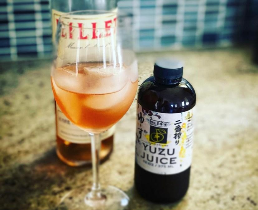 Lillet Yuzu Cocktail
