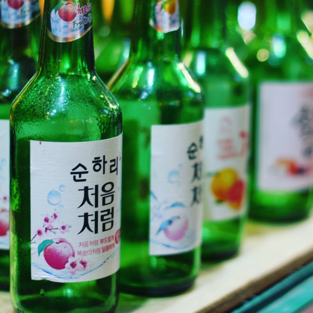 Fruit flavored soju