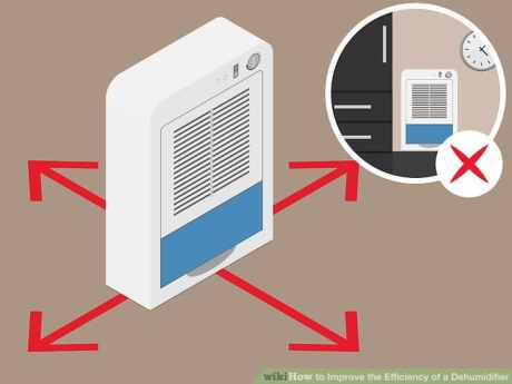 Follow the tips to increase dehumidifier efficiency
