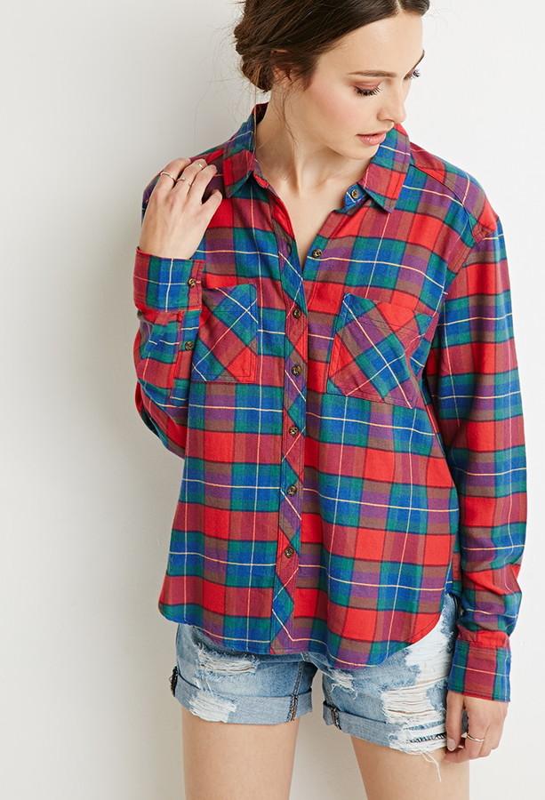 tartan plaid flannel