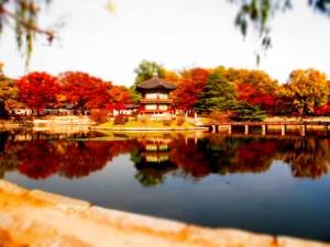 Gyeongbukgung lake