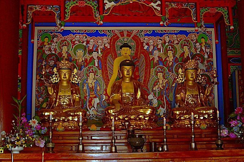 Cheongpyeongsa Buddhist Temple, Chuncheon, Korea