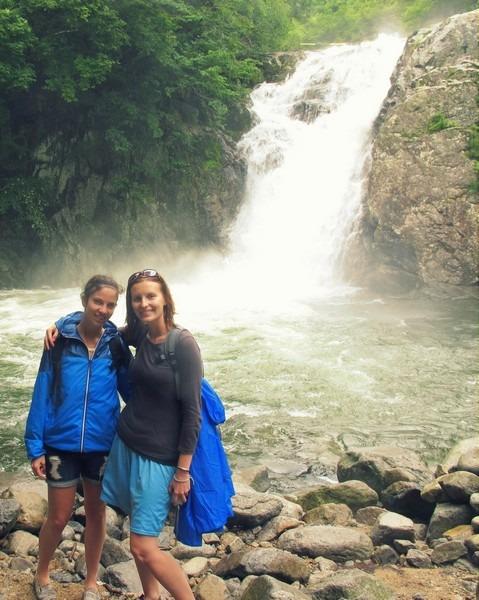 Hamyang, Korea: Yongchu Temple & Waterfall